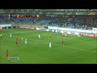 Габала - Краснодар 0-3 (10 декабря 2015 г, Лига Европы)