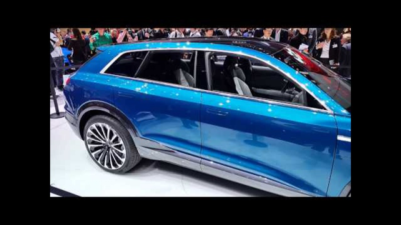 Audi e-tron quattro concept at Frankfurt Auto Show
