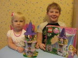 Башня рапунцель, лего 41054. Игры для девочек. Lego Disney princess