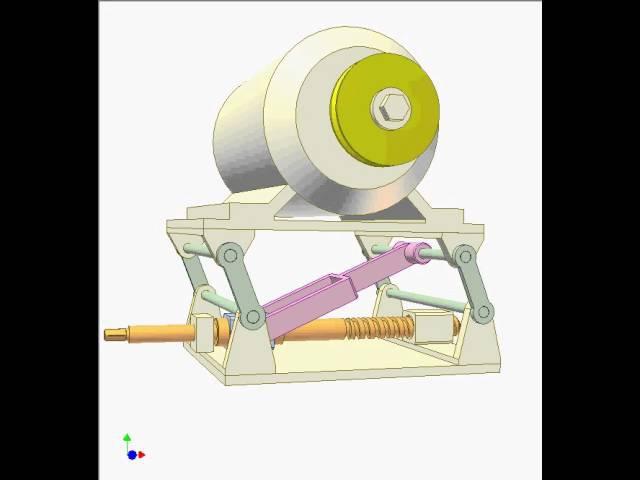 Nut-screw and bar mechanisms 7