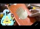 Как сделать из пластилина дневник