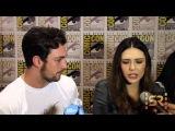 Avengers 2 Age of Ultron - Aaron Taylor-Johnson &amp Elizabeth Olsen Interview  Comic-Con 2014