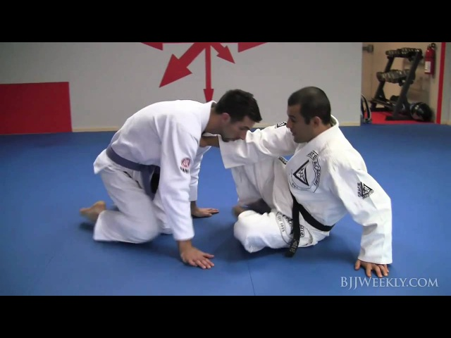 Gracie Jiu Jitsu - Ryron Gracie - Open Guard Loop Choke