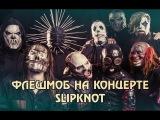 Slipknot в Москве 2016 - ФЛЕШМОБ