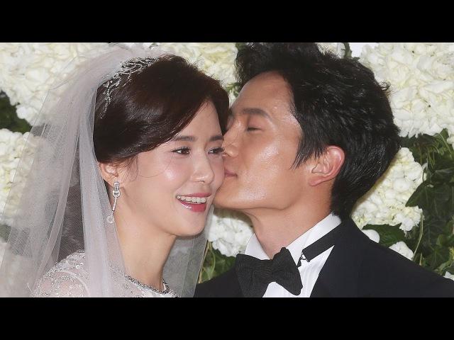 지성-이보영 결혼 '달콤남과 공주님의 행복한 웨딩마치'