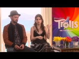 Justin Timberlake and Anna Kendrick Sing for Trolls film