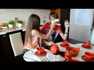 Что делают Даня и Кристи дома пока нет родителей! -- What are doing DanyaKristy alone at home!