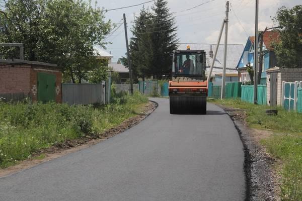 В поселке Нижняя Мактама Альметьевского района отремонтируют дороги на шести улицах