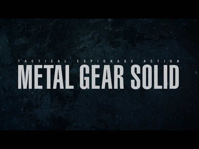 Where We're Going | The End of Metal Gear Solid - Epic Tribute