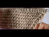 Урок 8. Вязание спицами: прибавка полотна перекрещенным накидом