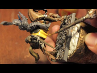 How to Paint Pistolier/Outrider Horsie - Empire - Warhammer Fantasy