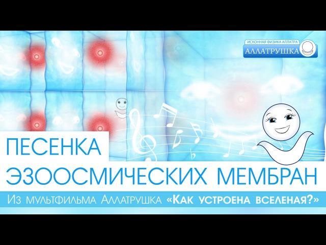 Песенка Эзоосмических мембран из мультфильма Аллатрушка «Как устроена Вселенная»