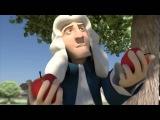 Ньютон и яблокоBest idea ever   позитивный короткий мультфильм