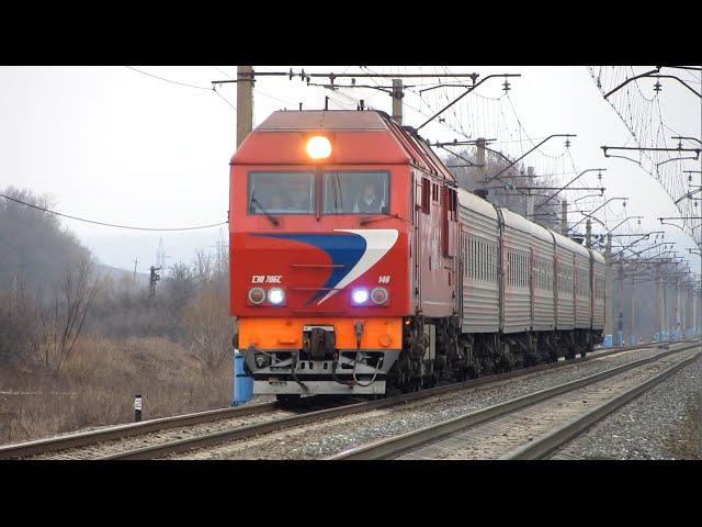 Тепловоз ТЕП70БС-146, перегін Біломістна - Бєлґород ПІВД.-СХІД.