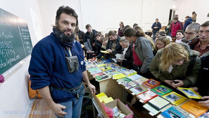 Антон Кротов о Единении. Луганск. Февраль 2016 года