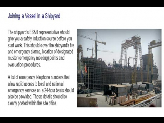 Eleon School Marine Safety Training Package for Contractors