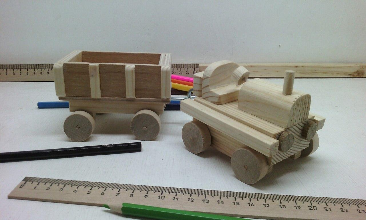 трактор с прицепом, деревянная игрушка трактор, недорогой трактор из дерева, деревянный эко-сувенир, сувенир, эко-игрушка сувенир, игрушка трактор с прицепом, ручная работа, эксклюзив, деревянное изделие, недорогой подарок,забавный подарок, натуральное дерево, интересный подарок