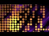 Фоновый футаж яркие точки HD