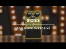 Boss SD-1 Super Overdrive Reverb Demo Video