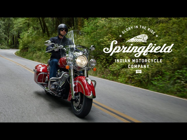 A Closer Look at the Indian Springfield - Indian Motorcycle