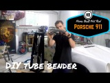 How to build a roll cage Tube Bender