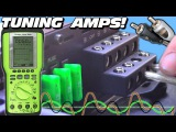 Tuning a Car Audio System w Two Subwoofer Bass Amps &amp 4 Channel Amplifier How To Set OSCOPE Gains