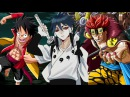 Monkey d Luffy and Eustass Kid ( One Piece ) vs Indra Ootsutsuki ( Naruto )