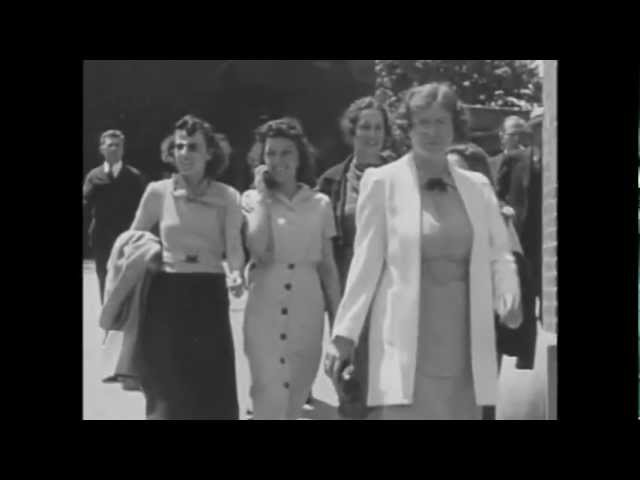 Time Travelers in 1928 film caught talking on a cell phone