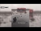 Место крушения самолёта. 19 марта 2016. Ростов-на-Дону