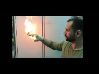Трюки с огнем/ Огонь на руке / Горение человека