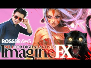 RossDraws: ImagineFX Anniversary COVER!