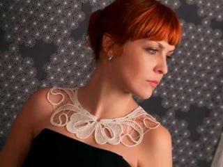 Румынское кружево. Вязаные воротники. Romanian lace. Crocheted collars.