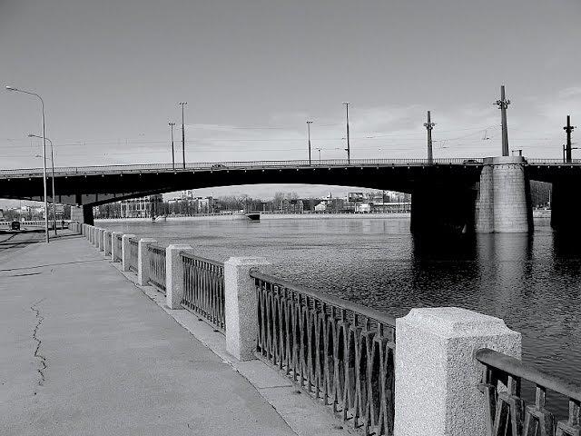 Ленинград Кантемировский мост открыт 1982 год, кинохроника, СССР