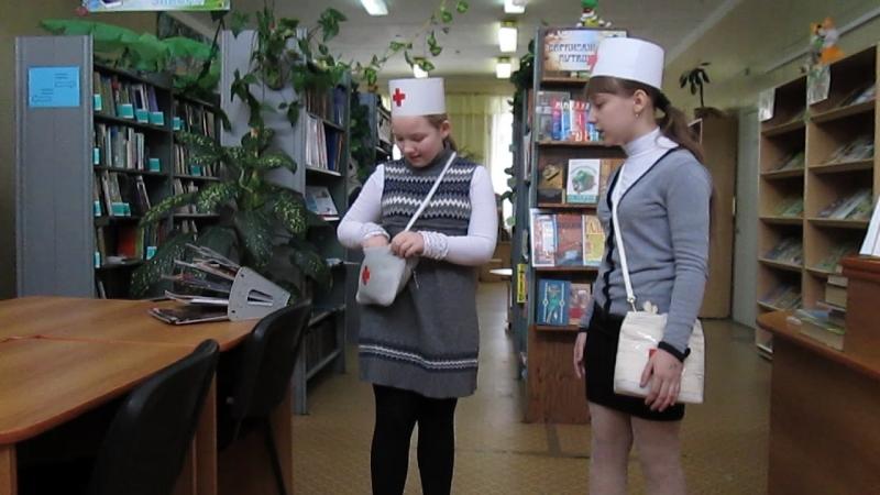 Пискорская Полина и Кожевникова Вика, библиотека № 6