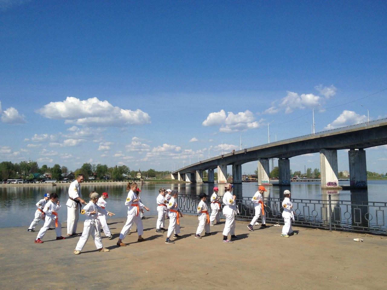 Кёкушин в Костроме