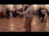 Медленный вальс - Зимний бал Школы бальных танцев 22.01.2016