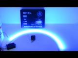 DXL Flexible гибкие светодиодные ленты (8 режимов строб.) - 60 СМ. Красный/Синий 7W