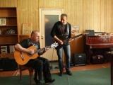Чиж&Co - Перекрёсток(Ты ушла рано утром) співає Сергій Царенко, імпровізація на електрогітарі Олександр Чехов