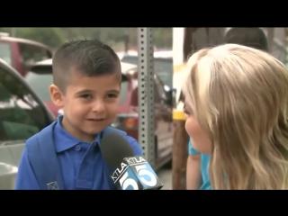 Журналистка спросила у сироты скучаешь по маме
