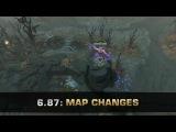 Dota 2 6.87 Map Changes