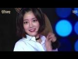 141231 Lee Yoo Bi - 'Like a Cat' (AOA) @ 2014 SBS