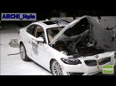 КРАШ-ТЕСТ KIA RIO 2013 и BMW 228i 2014 года | CRASH-TEST KIA RIO 2013  BMW 228i 2014