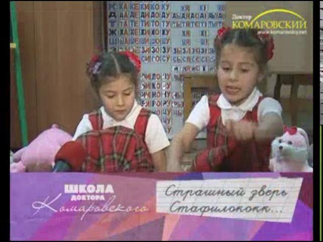 Стафилококк и стафилококковая инфекция Школа доктора Комаровского