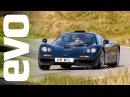 McLaren F1 and Ferrari F40 vs analogue rivals | evo TV