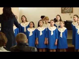 Финская народная песня Часы с кукушкой хор Детской Школы Искусств г  Таганрог руководитель Анна Влад