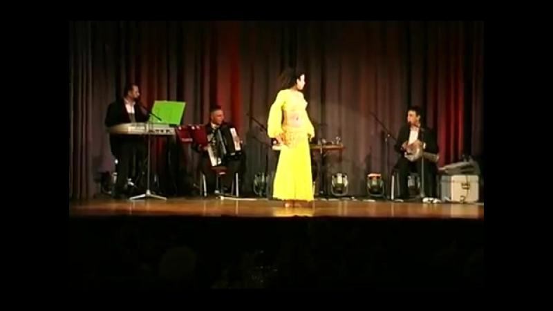 Artemis belly dance Baladi Hob min fik ya ghari to arabian Live Musik OTF 201 3