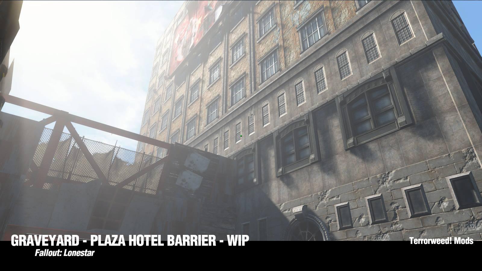 Первые скриншоты Fallout: Lonestar Локация