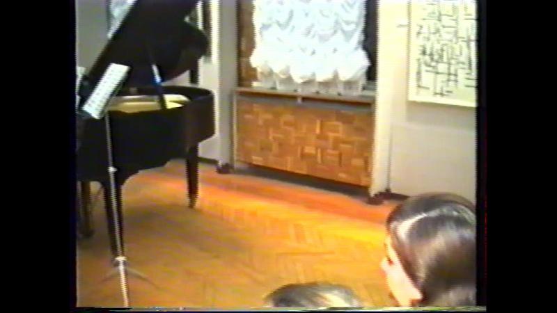 Leonarda Brushteyn Alfred Shnitke Sonata №1 Выставка памяти Кандинского.