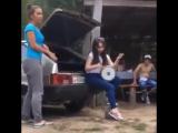 Cute Girl Sofi performs Seeya - Chocolata (Papito) song with darbuka