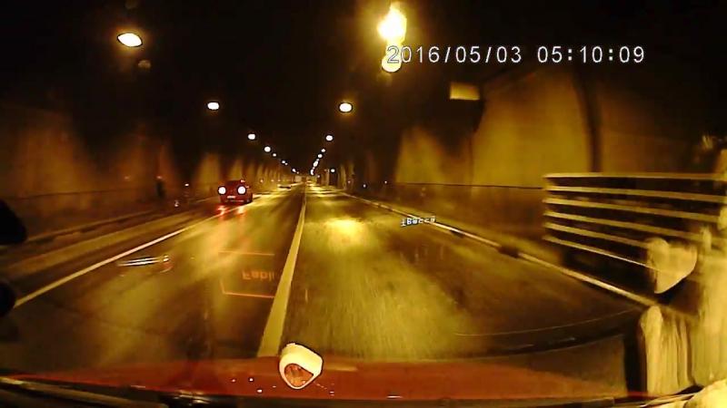 ДТП выезд из Лефортовского тоннеля